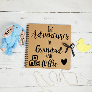 The Adventure's Of Grandad & Brown Scrapbook
