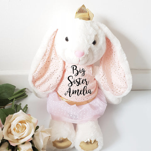 Luxury Classic Siblings Bunny Soft Toy