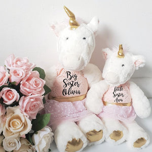 Luxury Classic Siblings Unicorn Soft Toy