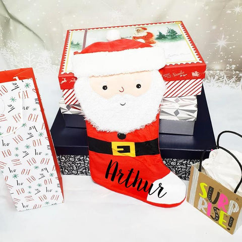 The Christmas Collection 3D Santa Stocking