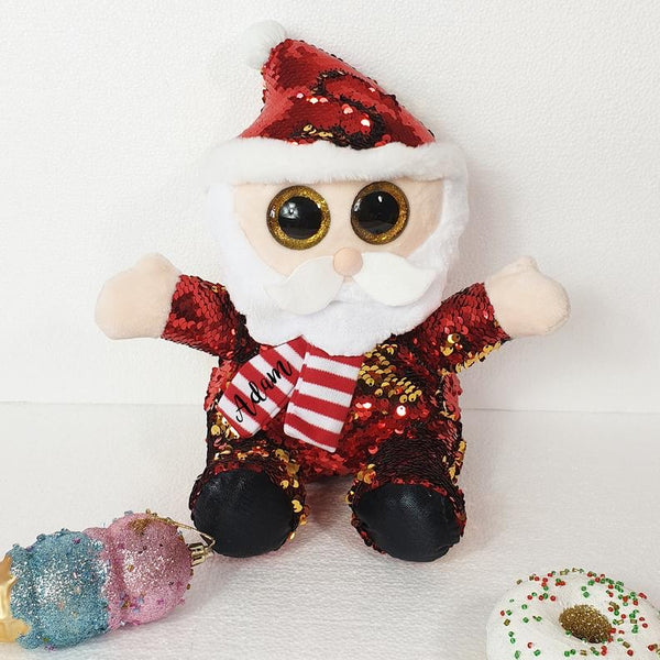 The Christmas Collection Santa Soft Toy