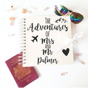 The Adventure's Of Mr & Mrs Ivory Scrapbook