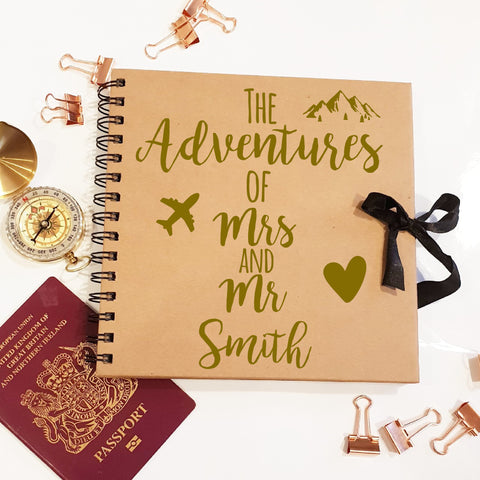 The Adventure's Of Mr & Mrs Brown Scrapbook