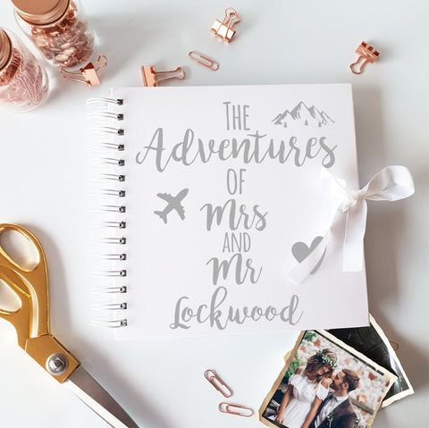 The Adventure's Of Mr & Mrs White Scrapbook