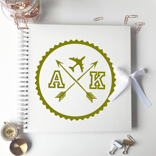 Travel Compass Ivory Scrapbook