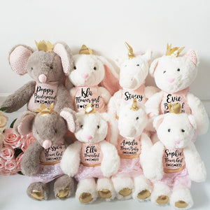 Luxury Classic Birthday Mouse Soft Toy