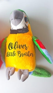 Siblings Parrot Soft Toy