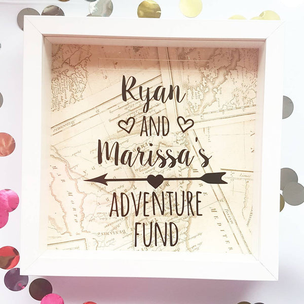 Couples Adventure Fund Money Box