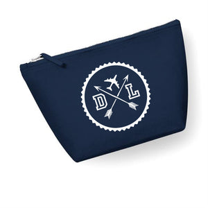 Travel Stamp Initials Wash Bag