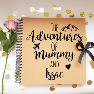 The Adventure's Of mummy &,  Brown Scrapbook