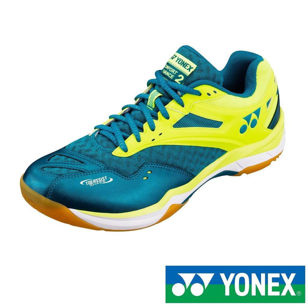 Yonex Power Cushion Comfort Advance 2 (Peacock Blue) Badminton Shoes