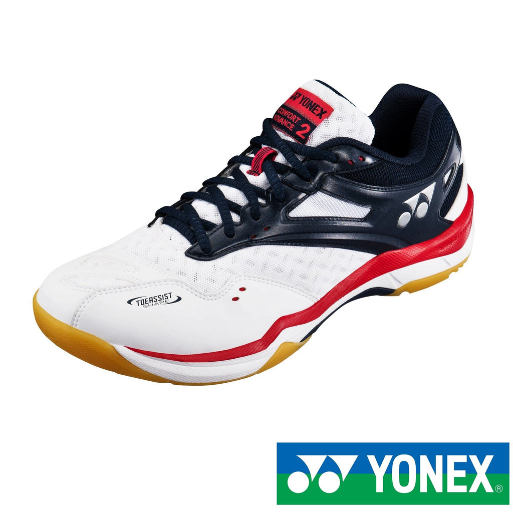 Yonex Power Cushion Comfort Advance 2 (Navy White) Badminton Shoes