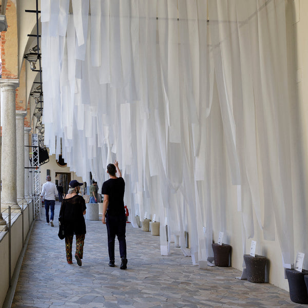 Climate Change Statistics installation by ecoBirdy for Rossana Orlandi