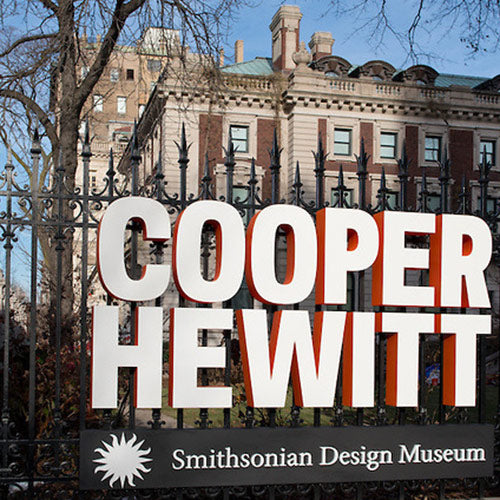 ecoBirdy sells at Cooper Hewitt