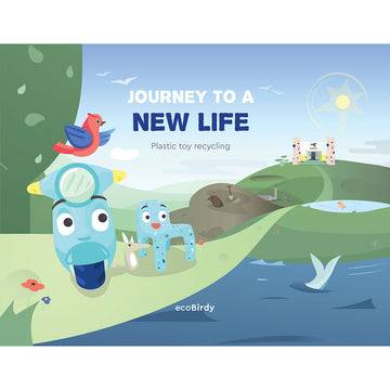 Journey to a new life (Storybook-English) - ecoBirdy