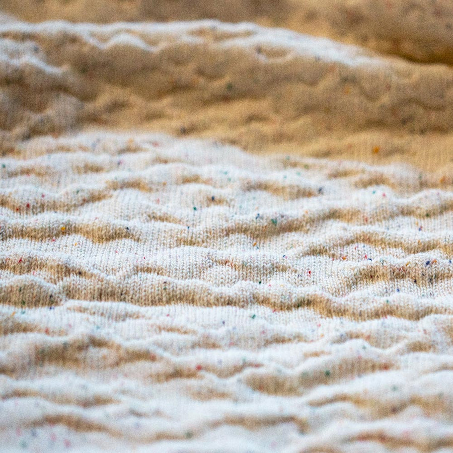 ecoBirdy Coral Blanket recycled cotton made in Belgium
