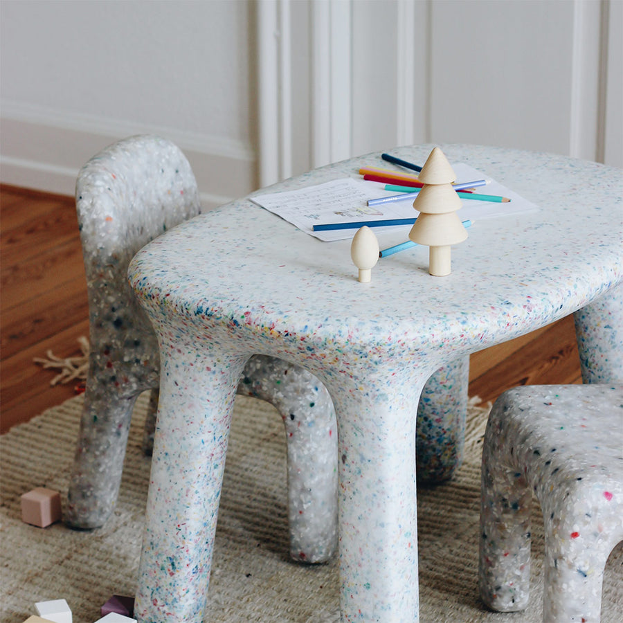 ecoBirdy charlie chair off white luisa table party