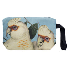 Load image into Gallery viewer, Coral Blue Corellas Nik Nak clutch bag