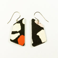 Load image into Gallery viewer, In the Pink Terrazzo print earrings