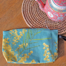 Load image into Gallery viewer, Green Wattle  Nik Nak clutch bag