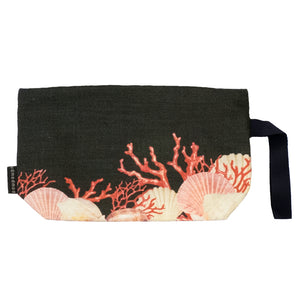 Pacific Queen Black Ocean Nik Nak clutch bag