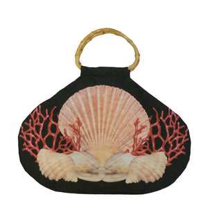 Pacific Queen Swing Bag - Black Ocean