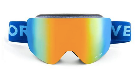 Tasman Dark Blue Snow Goggles