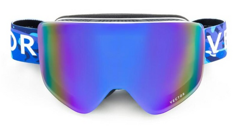 Tasman Purple Snow Goggles