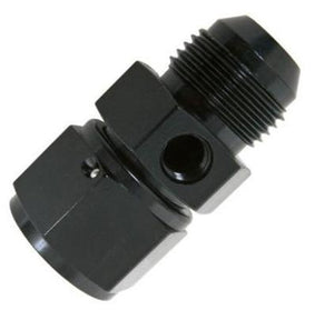 Male AN to Female AN  Inline Fuel Pressure Gauge Adaptor