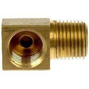 3/16 FIF 90° With 1/8 MNPT - Brass- 2707-J & J Hi-Performace