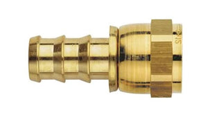 Aeroquip Straight Socketless Fitting- Brass
