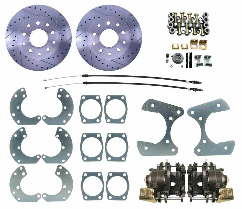"DBK9LX  Universal Ford 9"" Rear End Universal Disc Brake Kit"