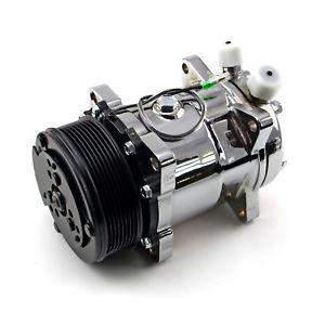 Air Conditioning Compressor 508 - Chrome-J & J Hi-Performace