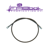 "FABbot 36"" -3AN Clutch Hydraulic Feed Line"