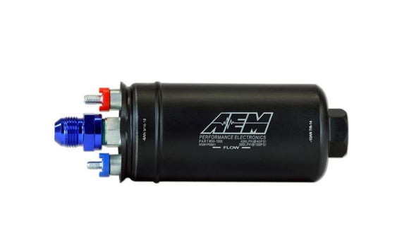 AEM 400lph High Flow In-Line Fuel Pump