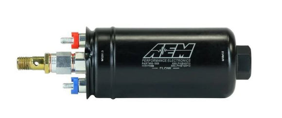 AEM Metric High-Flow Inline Fuel Pump - 400LPH