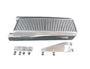 "CXRACING 3.5"" Core Intercooler + Mounting Brackets For 79-93 Fox Body Mustang"