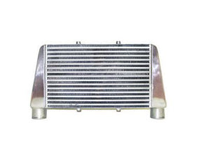 "CXRACING Turbo Intercooler 24""x11""x3"", 3"" Core: 18""x11""x3"", 2.5"" for RX7 V-Mount"