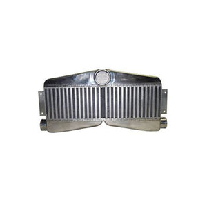 "CXRACING Twin Turbo Intercooler 27""x13""x3.5"", 3.5"" Core: 24""x7""x3.5"""