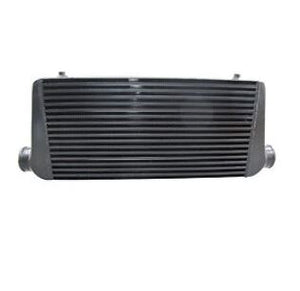 CXRacing Universal 31x12x4 Black Bar&Plate Intercooler Mustang Subaru IMPREZA ST