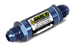 EARL'S FUEL FILTER - 6AN - BLUE - 85 MICRON - 230206ERL
