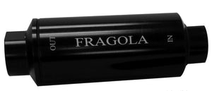 FRAGOLA FUEL FILTER - 10AN IN/OUT - 10 MICRON - 960002-BL