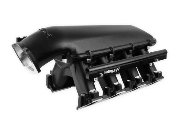 Holley LS Hi-Ram EFI Manifold- Black 300-125BK