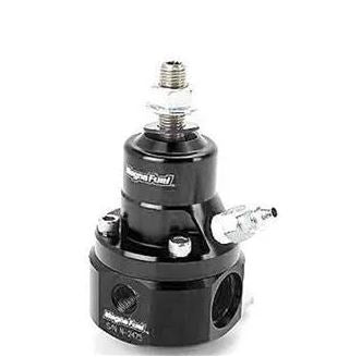 MAGNAFUEL FUEL PRESSURE REGULATOR - BOOST REFERENCE - EFI - 35-85 PSI - BLACK - MP-9925-B-BLK