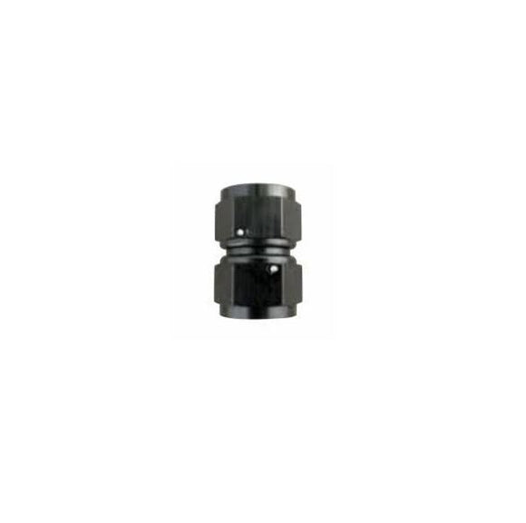 Swivel Female-to-Female Coupler | -12an | Black