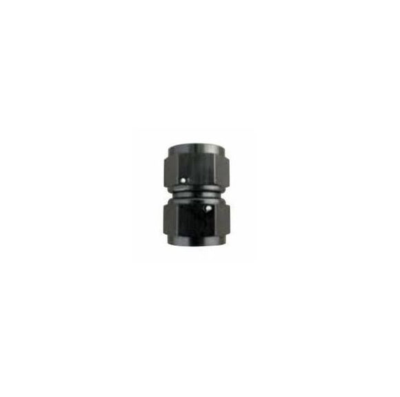 Swivel Female-to-Female Coupler | -6an to -8an | Black