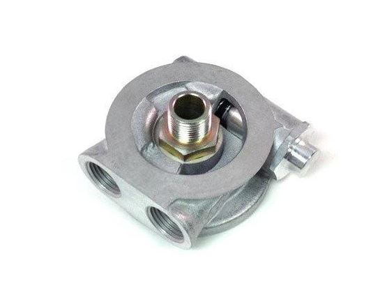 Squirrelly Performance Thermostatic Oil Sandwich Adapter | 20mm Thread