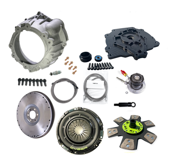 04-12 Colorado to 03-11 Crown Vic Knuckle Conversion Tubular Control Arms