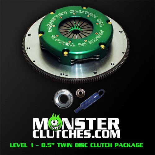 LEVEL 1 FBODY TWIN DISC CLUTCH KIT - 700 RWHP/RWTQ