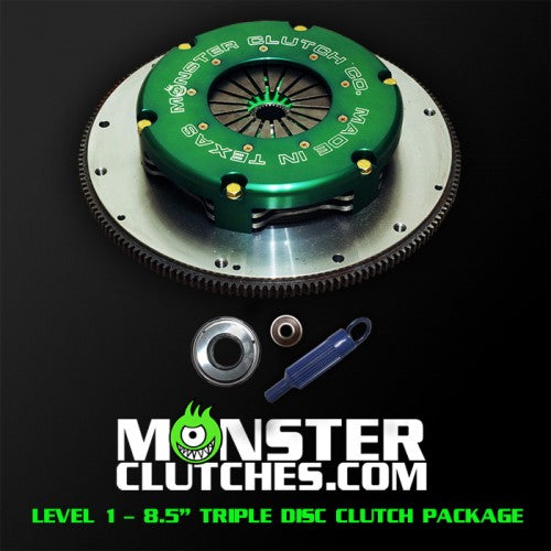 LEVEL 1 FBODY TRIPLE DISC CLUTCH KIT - 1000 RWHP/RWTQ